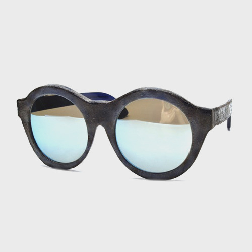[쿠보라움선글라스] Maske A3 Blue LIMITED EDITION BURNT (Mirror Lens) 미러 (KUBORAUM)