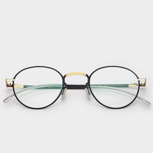 [마이키타안경] 시그먼드 SIGMUND GOLD BLACK CLEAR 056 (MYKITA CUSTOMMADE)