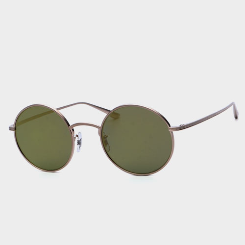 [올리버피플스x더로우선글라스] OV1197ST 5252W4 AFTER MIDNIGHT (Gold Mirror) 골드미러 (OLIVER PEOPLES x THE ROW)