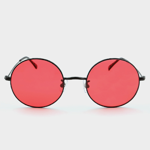 더블러버스 POWDER BLACK RED (Red Tint Lens)