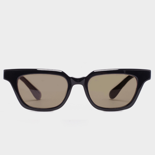 더블러버스 VICTOR BLACK BROWN (Brown Lens)