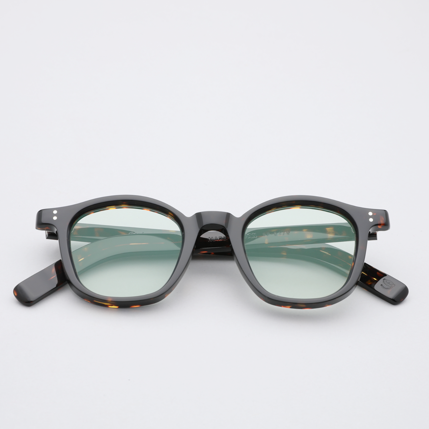 [규파드선글라스] GP01 E(Light green flat tint Lens) (guépard)