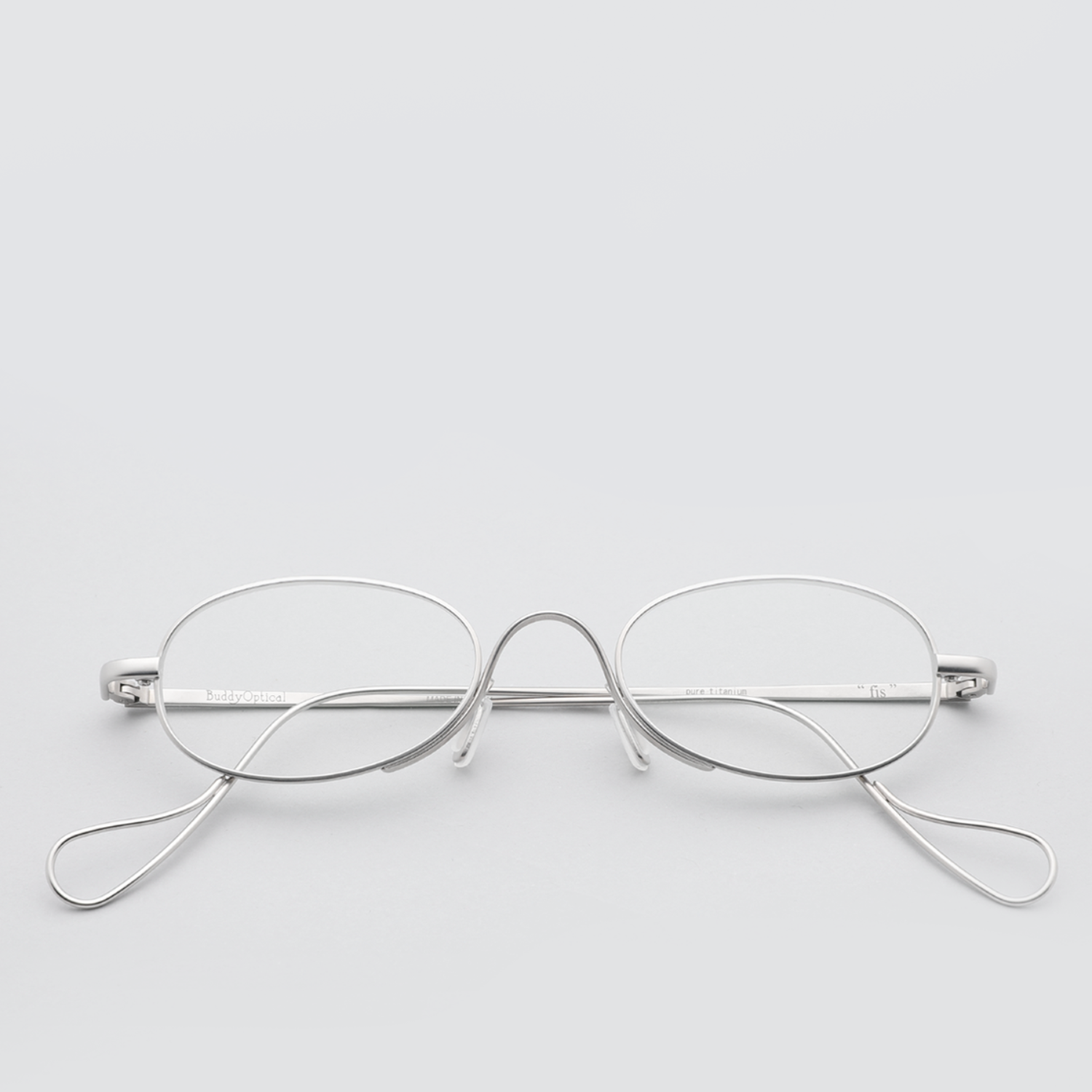 [버디옵티컬안경] fis MATTE SILVER (Buddy Optical)