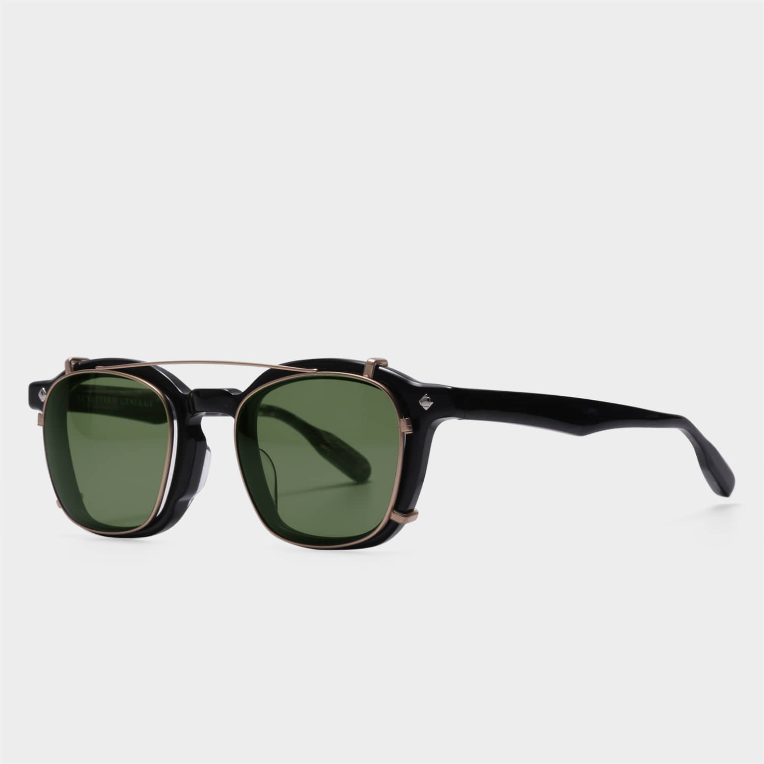 루네뜨리제너럴 COGNAC Brushed Gold (Green Lens)