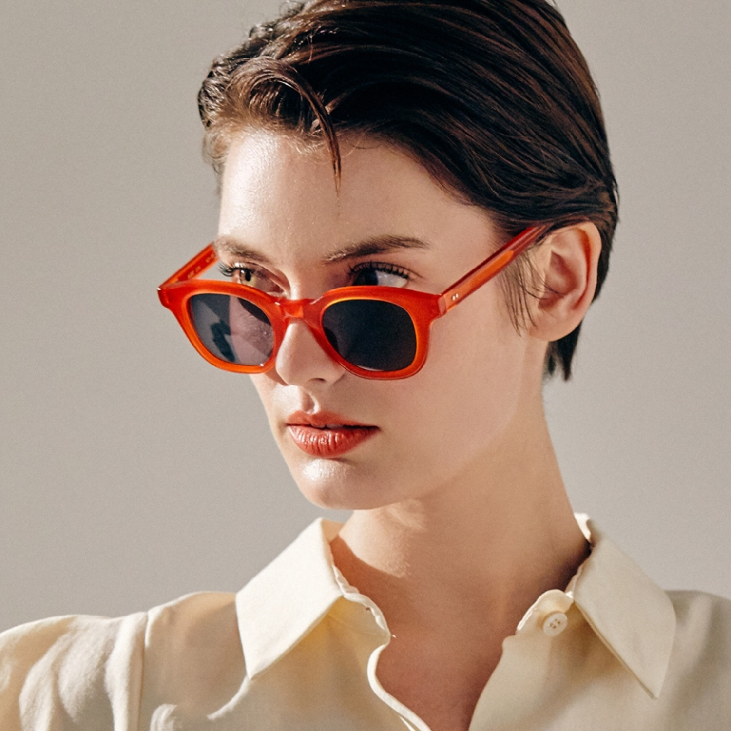 진저아이웨어 안경 Daddy 35% Vermillion GINGER EYEWEAR