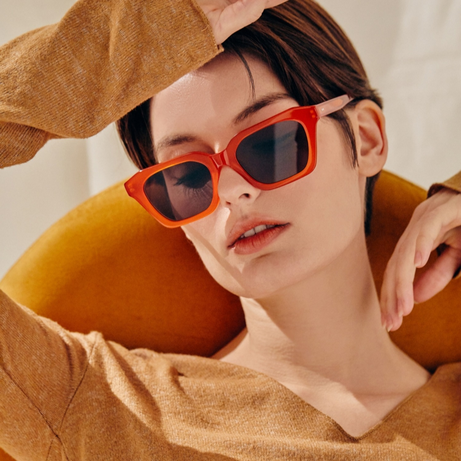 진저아이웨어 안경 My 35% Vermillion GINGER EYEWEAR