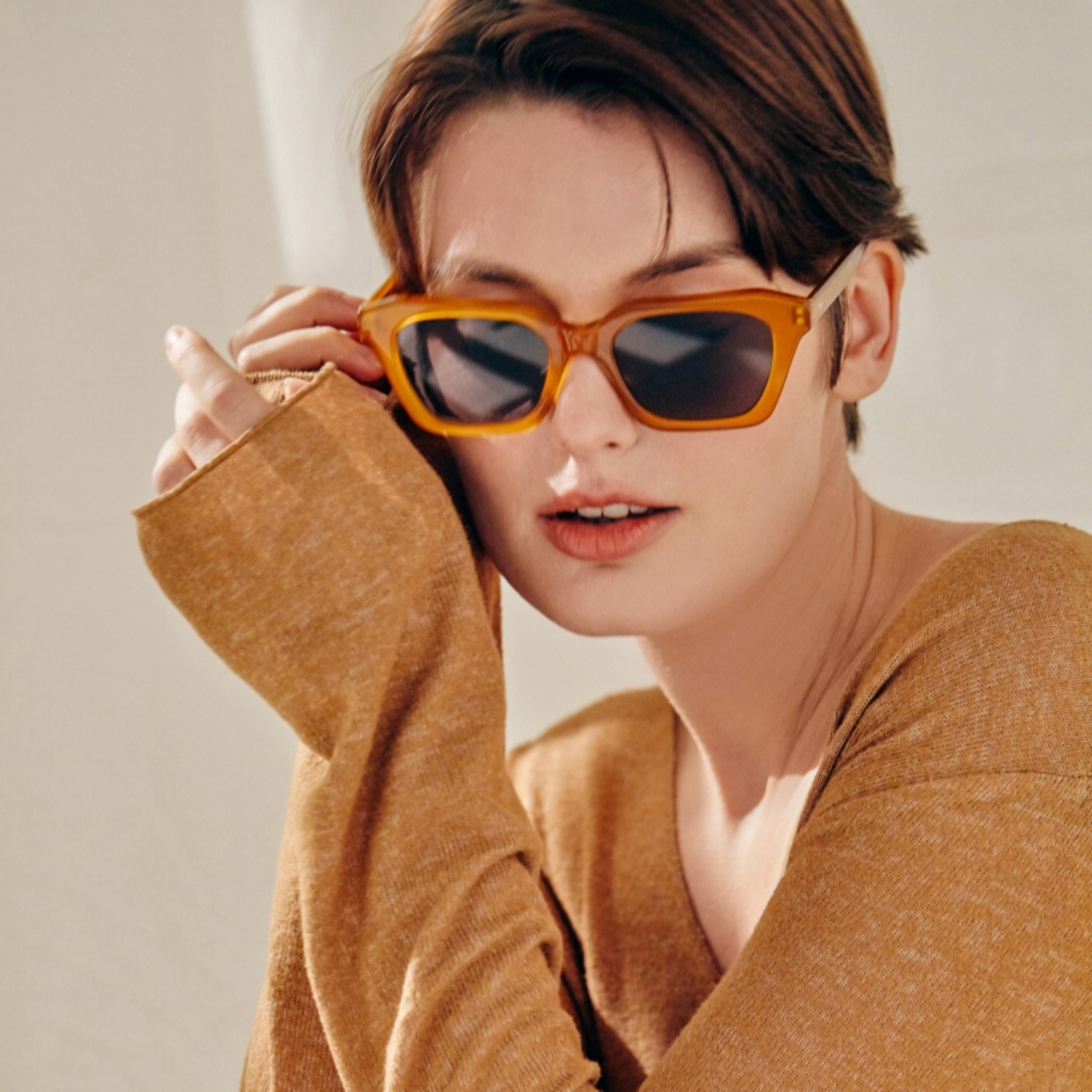 진저아이웨어 안경 My 22% Honey amber GINGER EYEWEAR