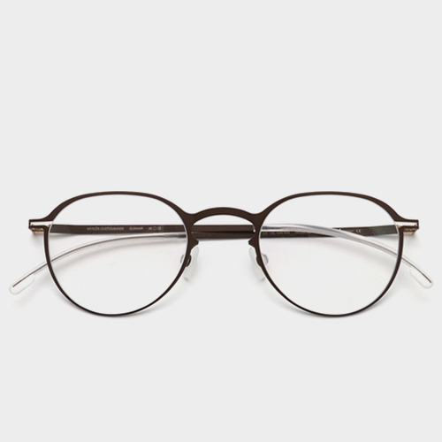 [마이키타안경] 군나르 GUNNAR CHOCOLATE CLEAR 024 (MYKITA)