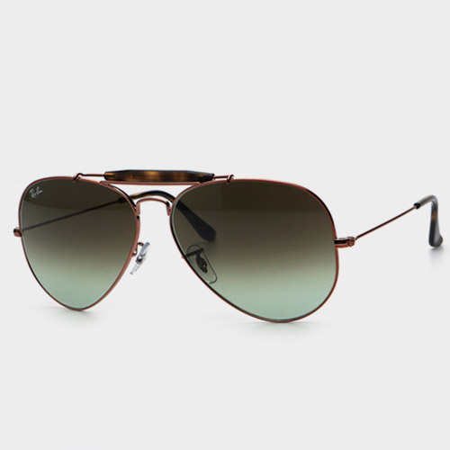 [레이밴선글라스] RB3029 OUTDOORSMAN II 9002 A6 (62) (Ray-Ban)