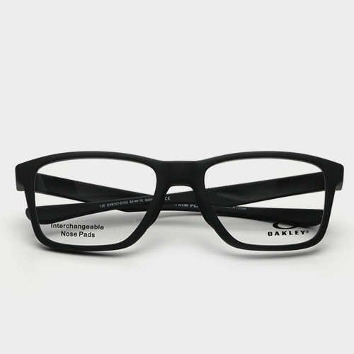 [오클리안경] 트림플레인 TRIM PLANE OX8107 0153 Satin Black (OAKLEY)