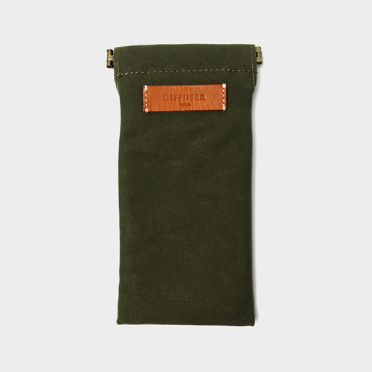 [디퓨저도쿄] SG1025 MILITARY GREEN ORANGE LEATHER (DIFFUSER TOKYO)