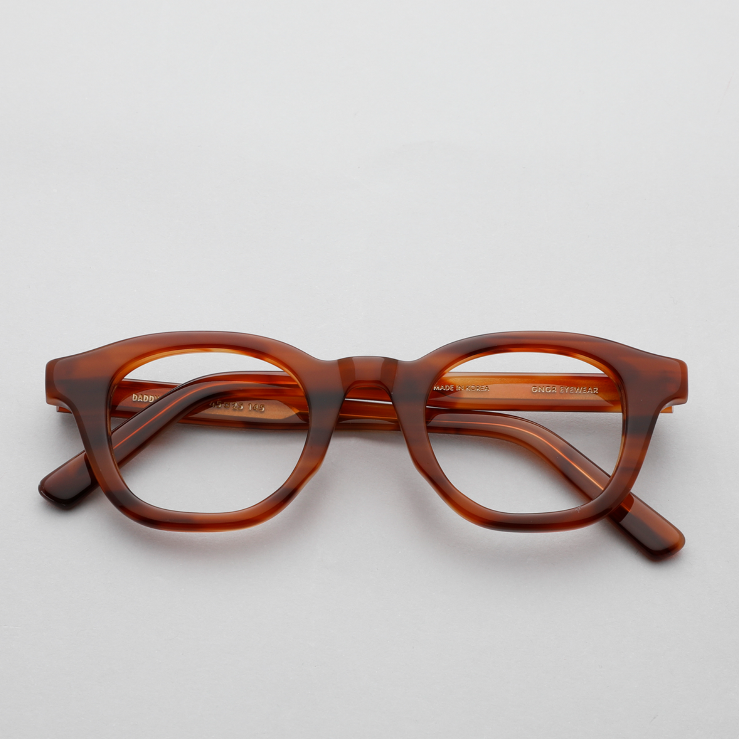 진저아이웨어 안경 대디 Daddy 74% Tiger brown GINGER EYEWEAR