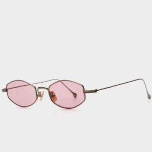 스틸러 CARTER STL02 ANTIQUE GOLD (Pink Tint Lens)